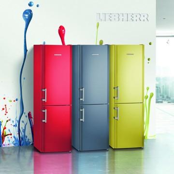 Яскраві кольорові рішення з холодильниками Liebherr ColourLine